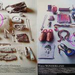 Jolie (Dez. 2008): Handtasche und Ringe – Winter Wonderland