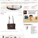 Amica (2009): Wiesn-Aufputz-Accessoires – Posttasche mit Hirschhorn (ONLINE)